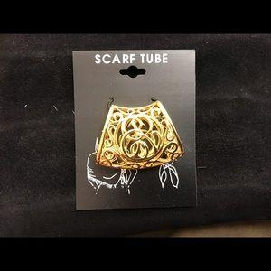 Vintage scarf jewelry new 1980s